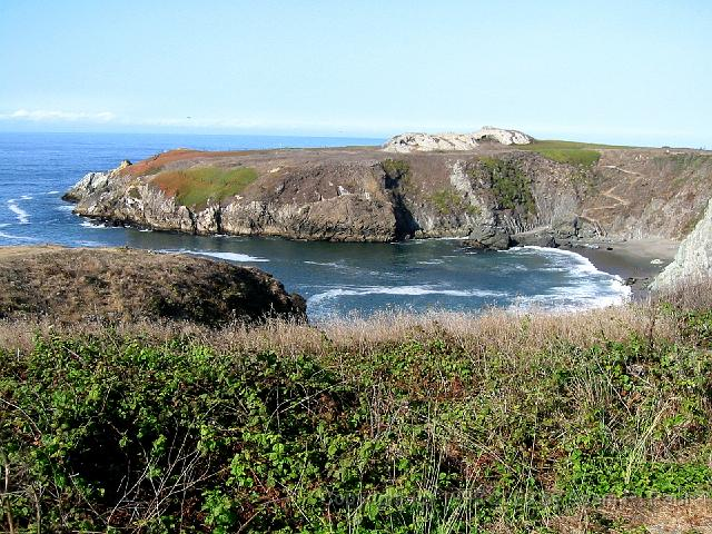 Cove off of Highway 1